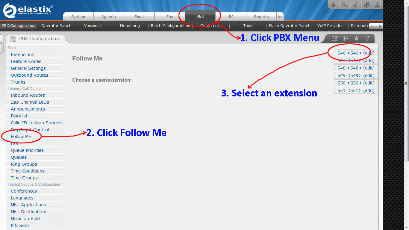 Conditional Call Forwarding – Elastix 2 x x – Feat Out